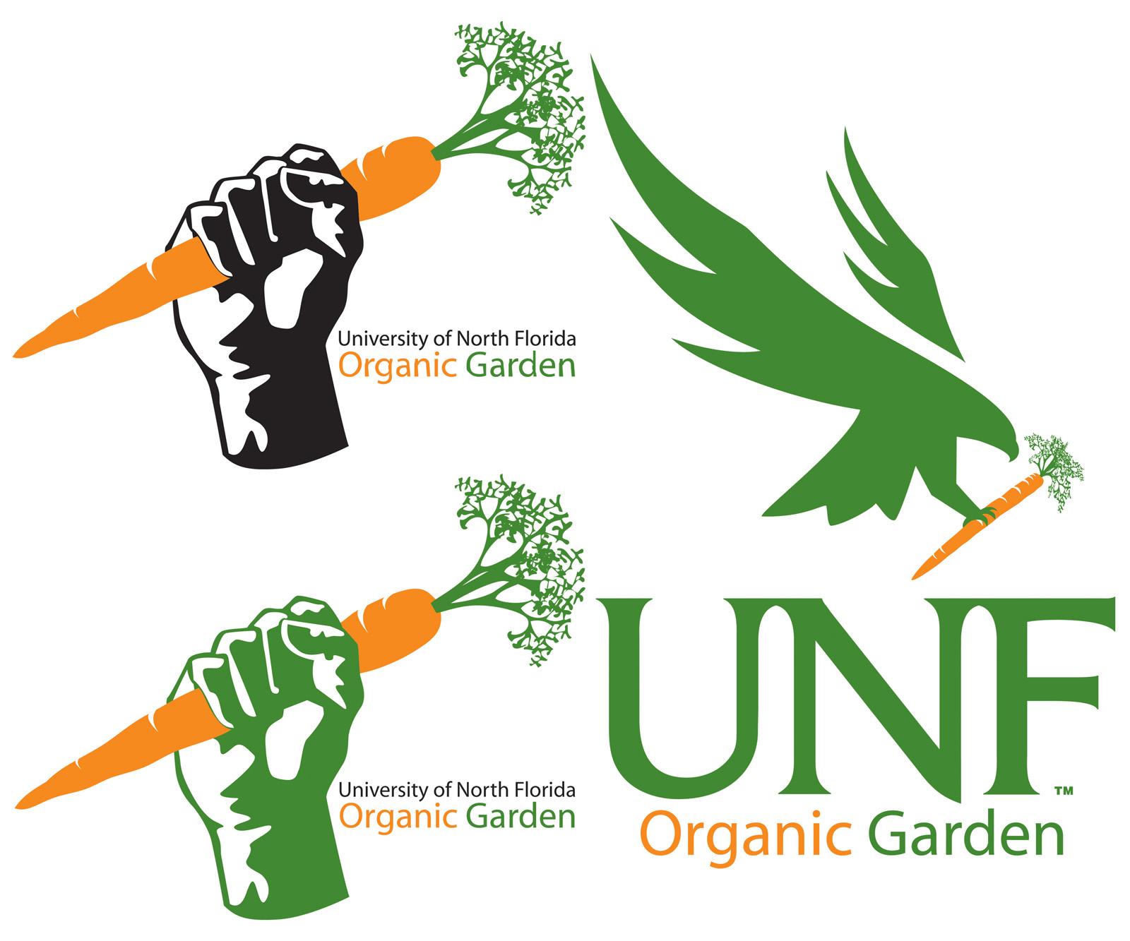 UNF Organic Garden Logo - David Franz