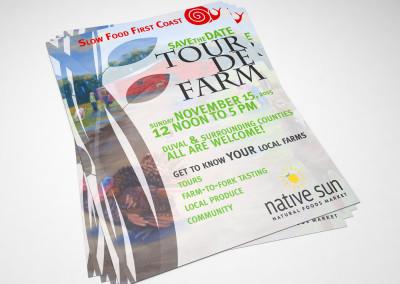Tour de Farm Poster