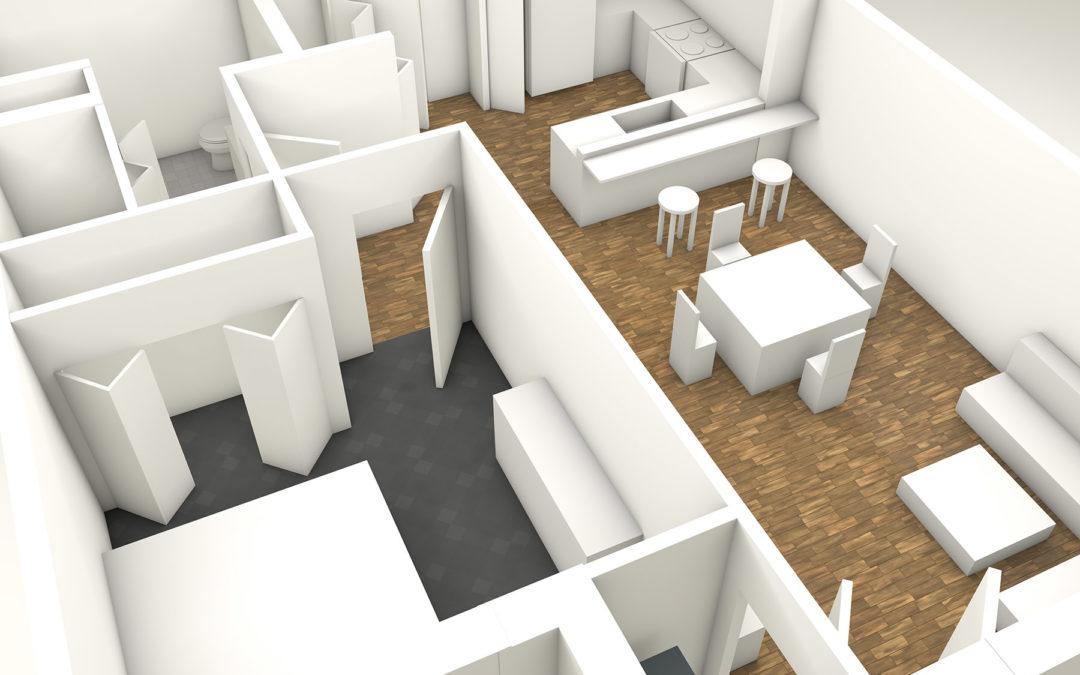 Floor Plan Renders